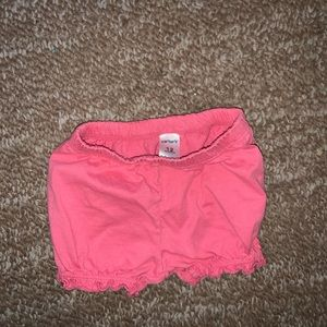 12 month pink shorts